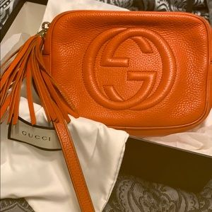 Gucci Bags - Gucci shoulder/crossbody bag with tassel on zipper